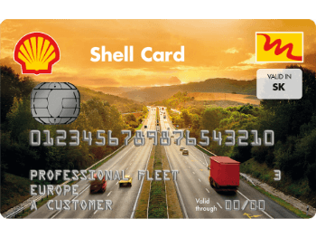 palivove karty Shell Card