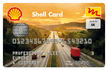 Shell Сard Single National